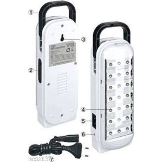 Lampe de Secours Rechargeable à Batterie 90 Led Camping Randonnée Sortie