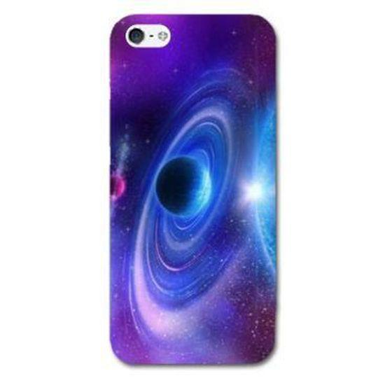 Coque iphone 5 / 5S Espace Univers Galaxie - - voie lactee -