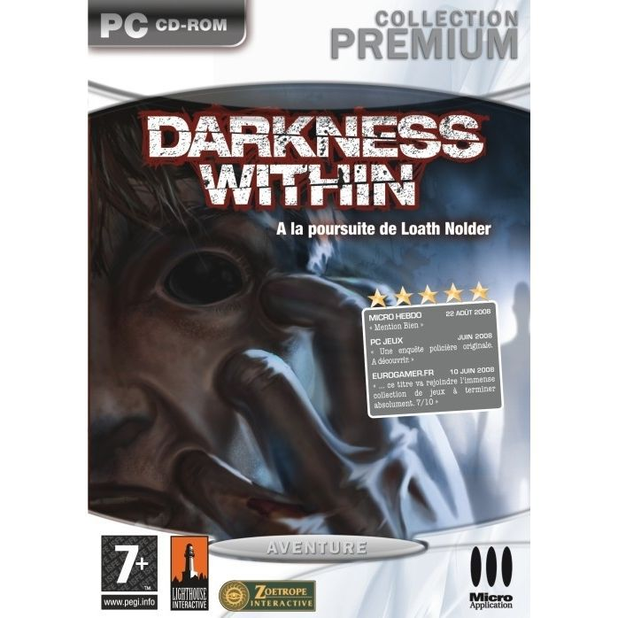 JEU PC PREMIUM DARKNESS WITHIN : A la poursuite de Loath