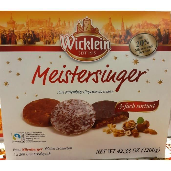 Wicklein Meistersinger Lebkuchen pain d'épice Mix 1,2kg