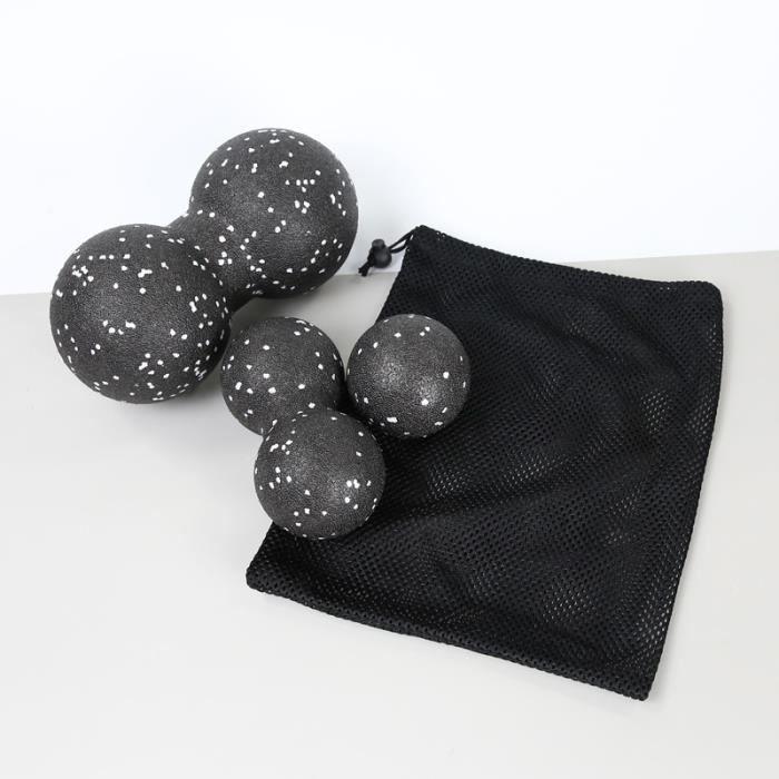 3 pièces Yoga balle d'arachide ensemble Pilates exercice Fitness arachide boule de Massage thérapie Relaxation exercice Relaxation