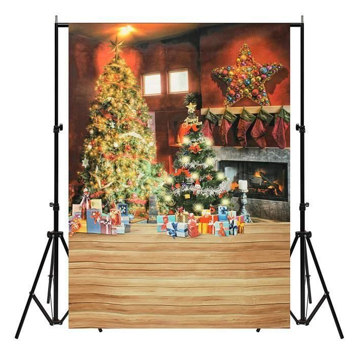 Toile de Fond Photographie Studio Photo Arbre de Noël Cadeau Ro22180