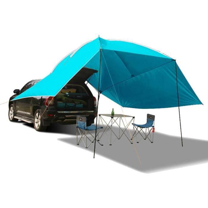 Qis.GH Impermeacuteable Agrave l'eau Teardrop Remorque Taud Portable Voiture SUV Tente Auvent, Facile Prolongeacutee Jusqu'agrave