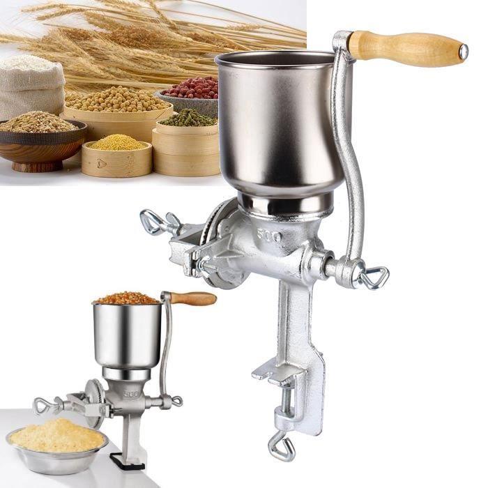 Cereales Moulin à grains Moulin à céréales manuel en fonte -OLL