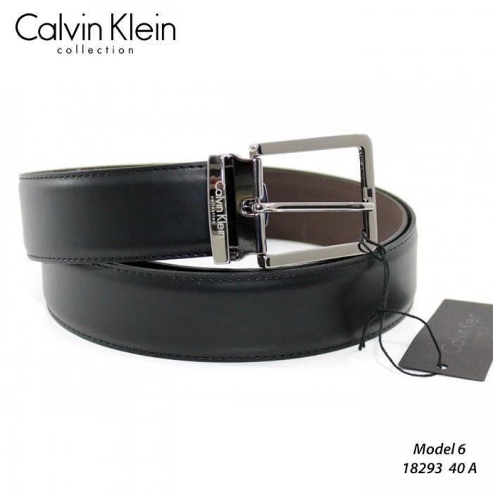 Ceinture Calvin Klein Homme Cuir Reversible 182296