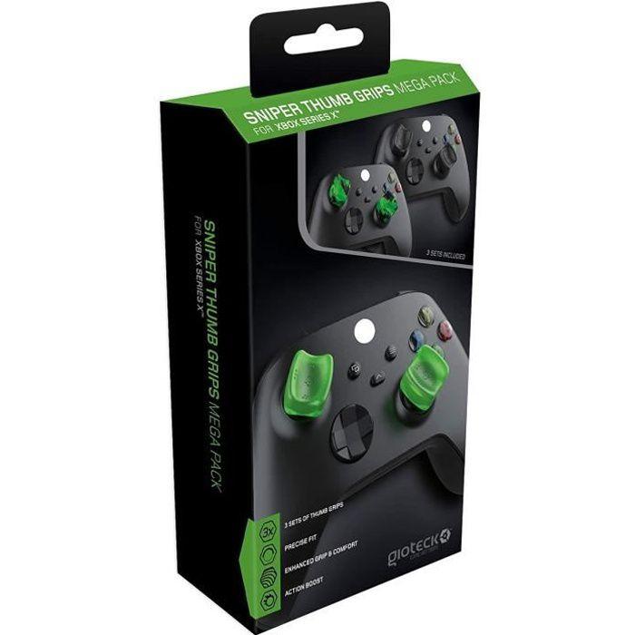 Gioteck - Méga pack de reposes pouce (Thumb Grips) Sniper pour Xbox Serie X/S - Lot de 3