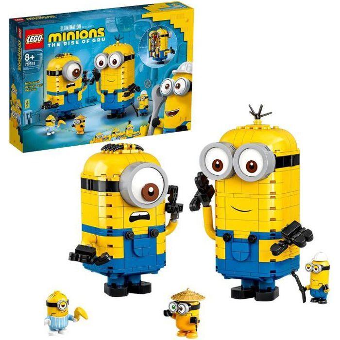 LEGO 75551 Les maxi-figurines Minions et leurs repaires