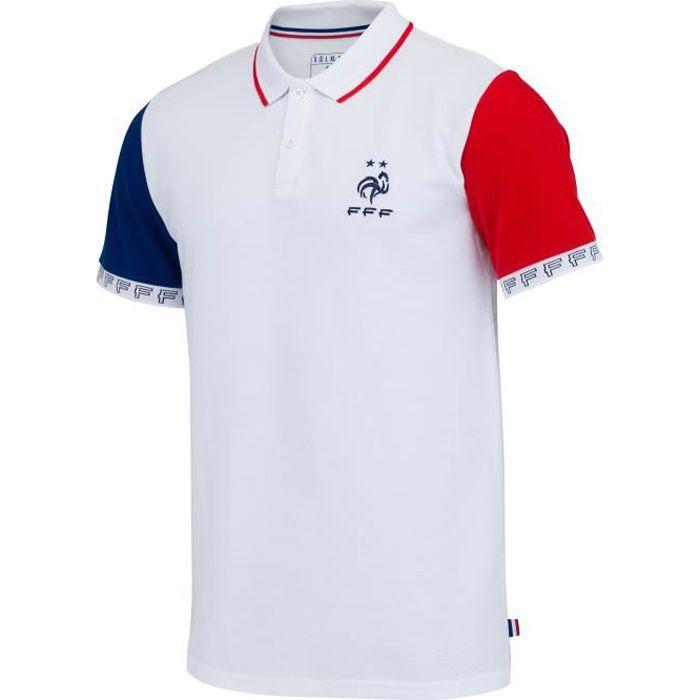 Polo FFF - Collection officielle Equipe de France de Football