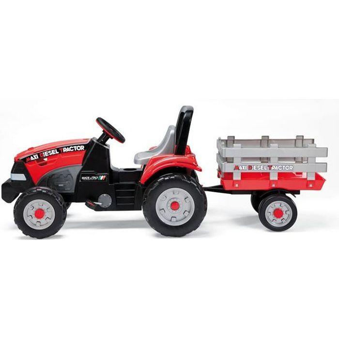 PEG PEREGO Tracteur à pédales réglable Maxi Diesel