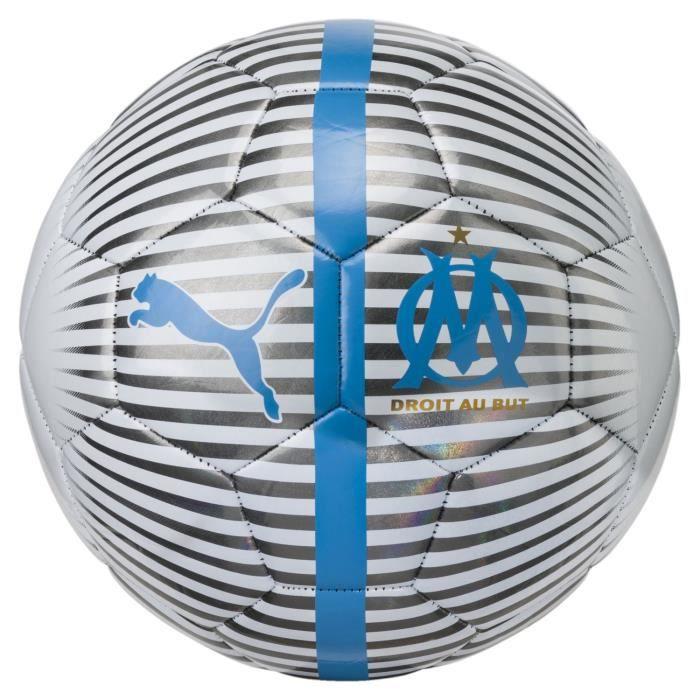 Ballon Puma Om One Chrome Blanc Homme 5