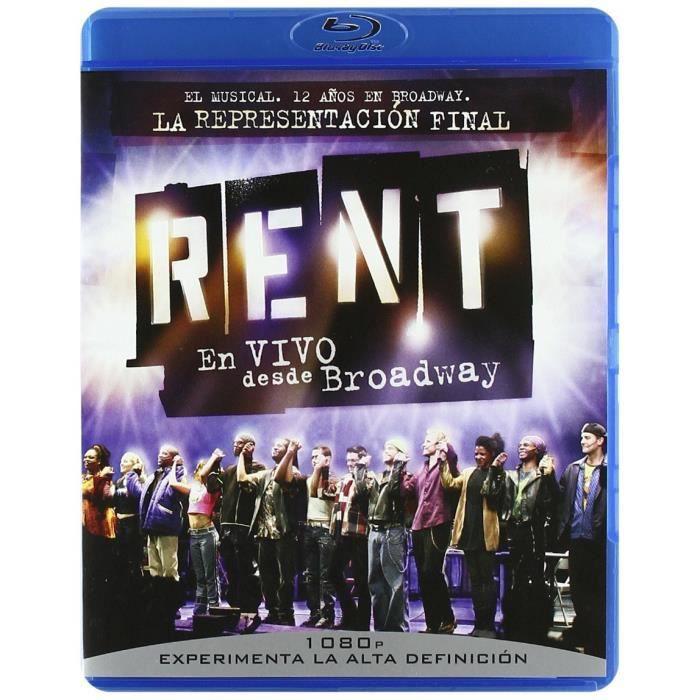Rent: Filmed Live on Broadway (RENT: EN VIVO DESDE BROADWAY (VERSION ORIGINAL), Importé d'Espagne, langues sur les détails)