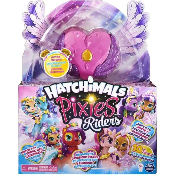 HATCHIMALS PIXIES Riders - 6058551 - Coffret magique avec poupées fées et animaux fantastiques à collectionner -Mini Univers Enfant