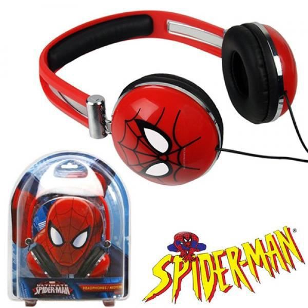 casque audio enfant spider man casque couteur avis et prix pas cher cadeaux de no l. Black Bedroom Furniture Sets. Home Design Ideas
