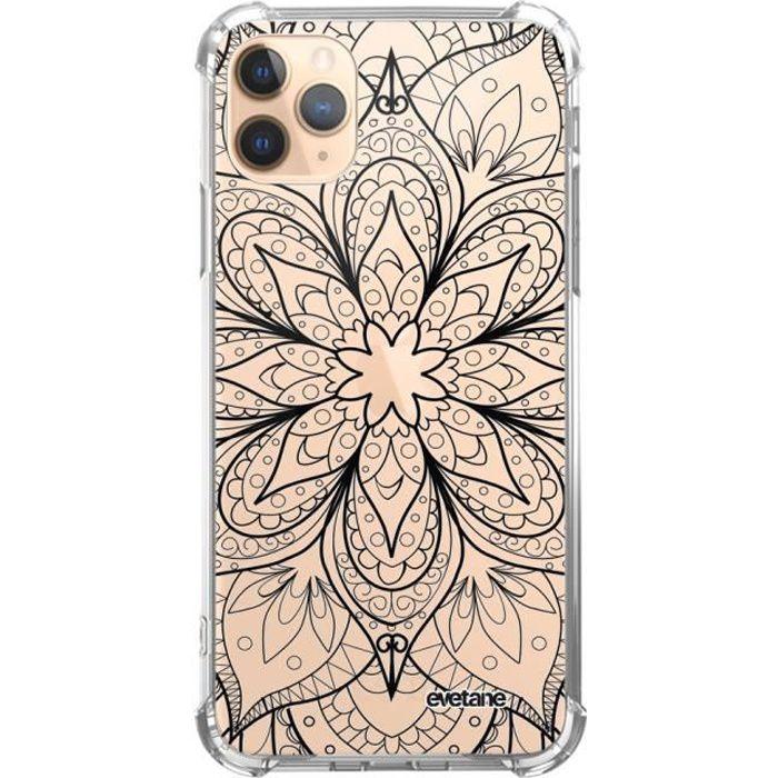 Coque iphone 11 silicone transparent motif