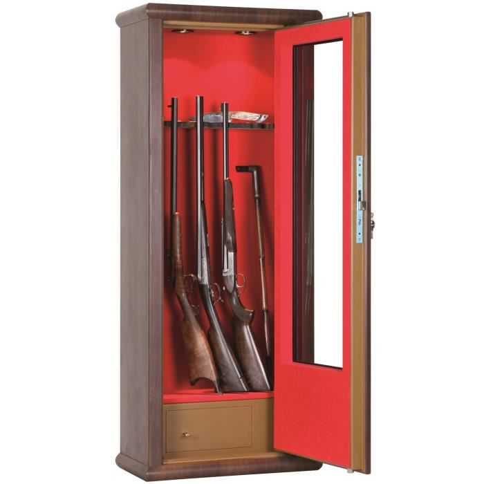 armoire forte vitrine wood look armes achat vente armoire fusil armoire forte. Black Bedroom Furniture Sets. Home Design Ideas