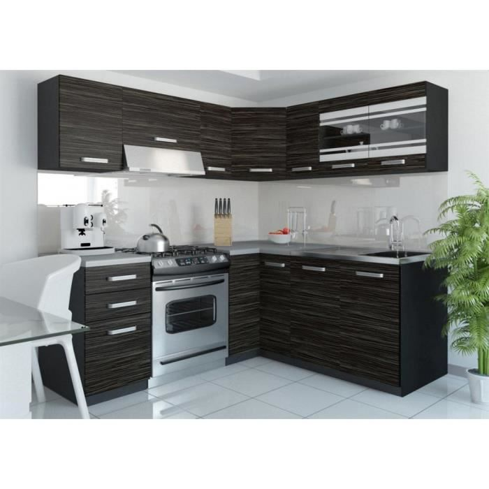 justhome torino iv l cuisine quip e compl te 190x170 cm. Black Bedroom Furniture Sets. Home Design Ideas
