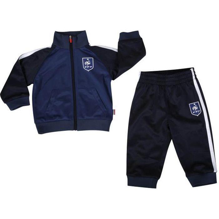 Survêtement bébé FFF Collection officielle Equipe de France de Football