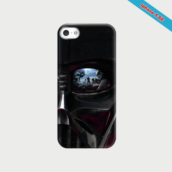 coque iphone 5 se fan de star wars dark vador achat coque bumper pas cher avis et meilleur. Black Bedroom Furniture Sets. Home Design Ideas