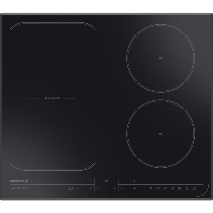 rosieres table de cuisson induction res432 electrom nager. Black Bedroom Furniture Sets. Home Design Ideas