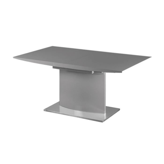 Table de repas extensible design sydney grise achat - Table design grise ...