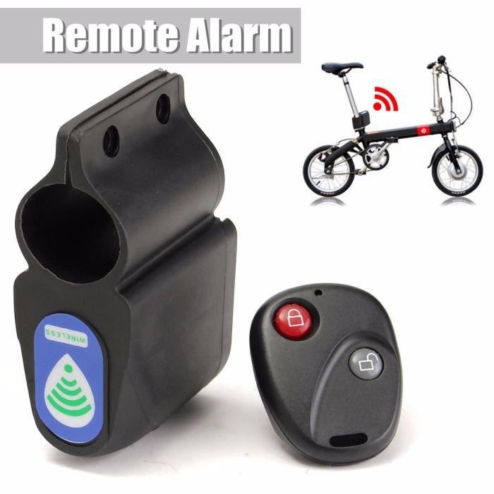 Protection Vélo Alarme Système Vélo Aller pour Vélo Véhicule Télécommande