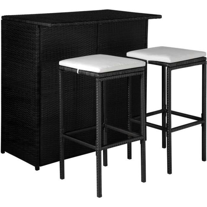 tabouret de bar exterieur resine achat vente pas cher. Black Bedroom Furniture Sets. Home Design Ideas