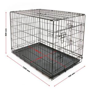 cage transport chien xl achat vente pas cher. Black Bedroom Furniture Sets. Home Design Ideas
