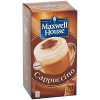 MAXWELL HOUSE Cappuccino Soluble 10 Sticks 148g