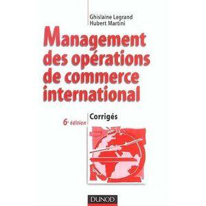 AUTRES LIVRES Bts; management des opérations de commerce inte...
