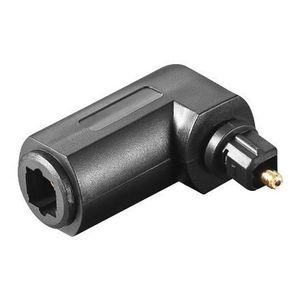 ADAPTATEUR AUDIO-VIDÉO  Alpexe® adaptateur Câble audio Optique-Toslink Con