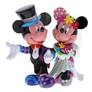FIGURINE - PERSONNAGE Disney Britto - Figurine de mariage Minnie et Mick