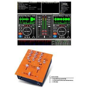 TABLE DE MIXAGE TABLE DE MIXAGE MIXER USB MP3 WAV + LOGICIEL MIX