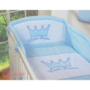 Tour de lit bébé bleu - Achat / Vente Tour de lit bébé bleu ...