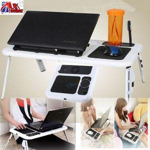 SUPPORT PC ET TABLETTE Portable Bureau d'ordinateur pliant Support meuble