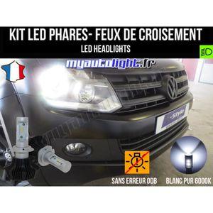 Paire PHILIPS OEM H7 12V 55 W haute puissance Ampoules Phare VW T5 Transporteur +30/%