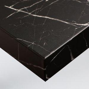 Noir Papier Adhesif pour Marbre de PVC Imperm/éable Adhesif Marbre Stickers pour Cuisine Niviy Film Autocollants Marbre 60 cm /× 200 cm