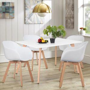 TABLE DE CUISINE  Table à Manger Rectangulaire - Scandinave Minimali