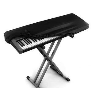 couverture de protection extensible pour piano /électrique//num/érique extensible 88 touches clavier anti-poussi/ère QEES Housse de clavier pour 61//88 touches