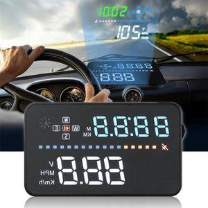 PC pour Moto Moto Rainai C80 Compteur De Vitesse GPS Voiture,Affichage T/ête Haute Voiture,Affichage Tete Haute Voiture GPS Noir ABS