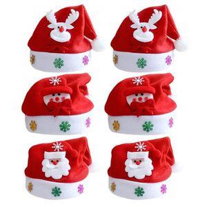 Père Noël chapeau plus au Père Noël Famille Cadeau Homme Femme Adulte Robe de soirée
