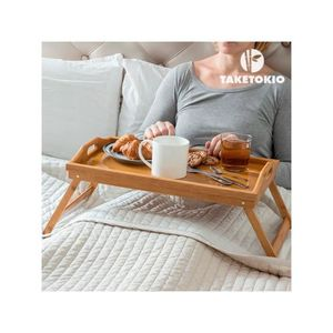 table pour petit dejeuner au lit achat vente table. Black Bedroom Furniture Sets. Home Design Ideas