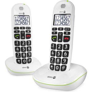 Téléphone fixe DORO Phone Easy 110 Duo