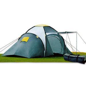 TENTE DE CAMPING Tente camping XXL tunnel voyage vacance 4 places