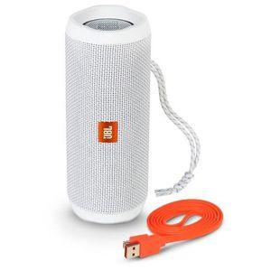 ENCEINTE NOMADE JBL Flip 4 Portable Bluetooth Speaker Blanc