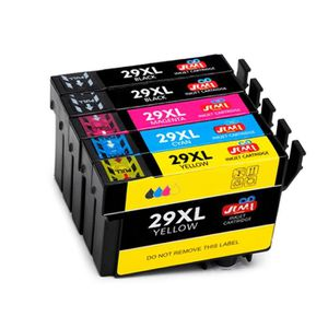 CARTOUCHE IMPRIMANTE 5 cartouches Compatible Epson 29 XL - Noir + Coule