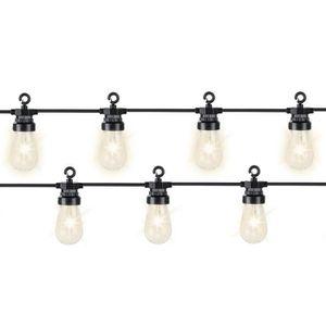 GUIRLANDE LUMINEUSE INT Guirlande lumineuse 20 Led ampoules transparentes
