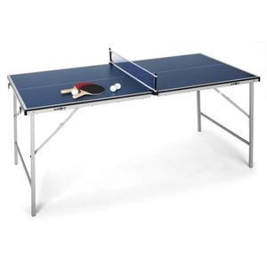 TABLE TENNIS DE TABLE Klarfit - Mini table de ping-pong pliable facile à