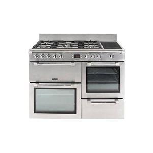 CUISINIÈRE - PIANO Leisure Cookmaster CK110F324X Cuisinière (four à d