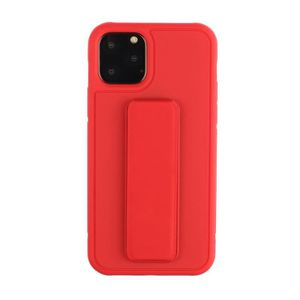 COQUE - BUMPER Coque iPhone 11 Pro MAX,Rouge Ultra Slim Souple An