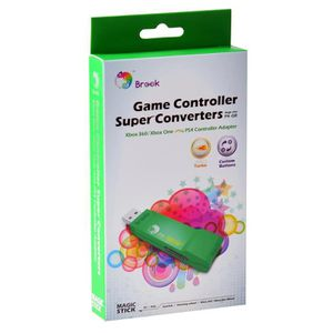 ADAPTATEUR MANETTE Brook ZPPN002 XBox 360 / Xbox ONE à PS4 super Conv